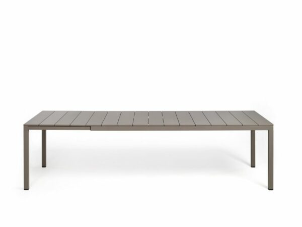 Outdoor Dining Table - Rio Alu 210-280 Extendable in Taupe