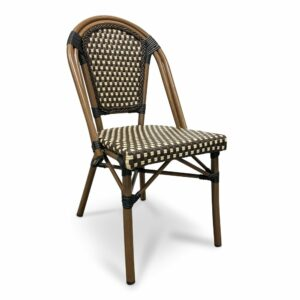 Parisian Bistro Chair - Brown & Cream