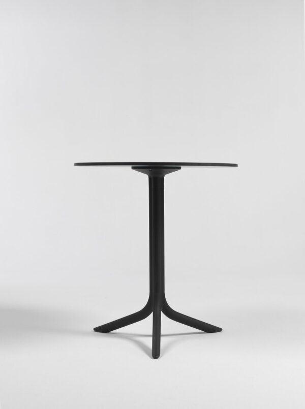 NARDI Break Table Base with HPL Table Top in Charcoal