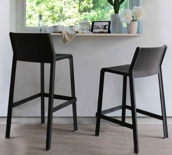 Height Comparison of Tall Bar Stools and Kitchen Counter Stools