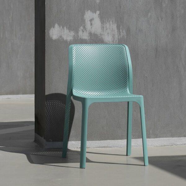 Outdoor Bistro Chairs NZ - Bit Chair in Spearmint