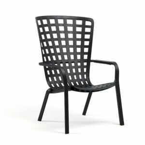 NARDI Folio Deck Chair - Charcoal