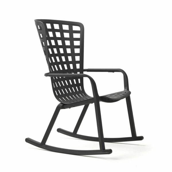 NARDI Folio Rocking Chair - Charcoal