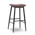 ByDezign Aviator Backless Tall Bar Stool - Tan