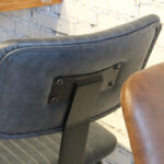 Aviator Mid-Century Modern Dining Chair Back Rest & Detailing