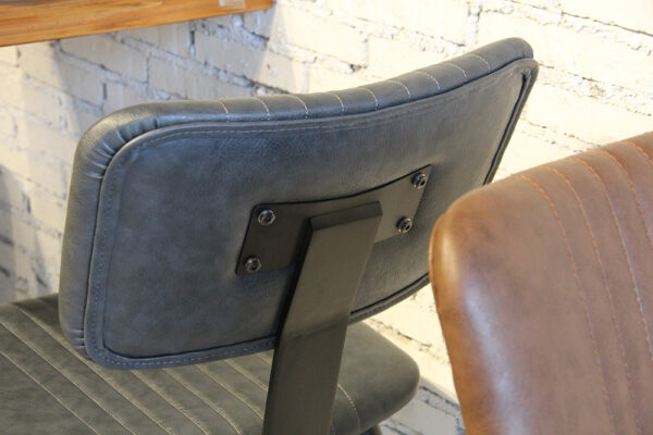 ByDezign Aviator Mid-Century Modern Dining Chair Back Rest & Detailing