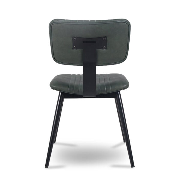 ByDezign Aviator Mid-Century Modern Dining Chair - Green (Back)