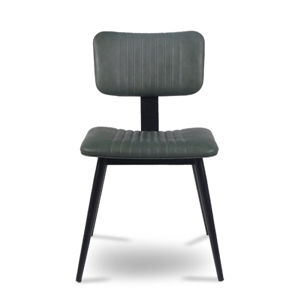 ByDezign Aviator Mid-Century Modern Dining Chair - Green (Front)