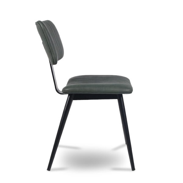 ByDezign Aviator Mid-Century Modern Dining Chair - Green (Profile)
