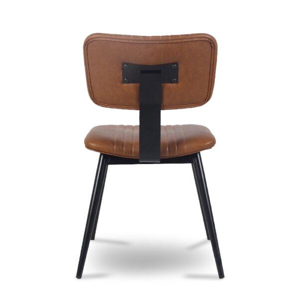 ByDezign Aviator Mid-Century Modern Dining Chair - Tan (Back)
