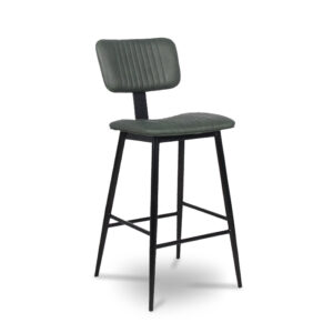 ByDezign Aviator Mid-Century Modern Tall Bar Stool - Green