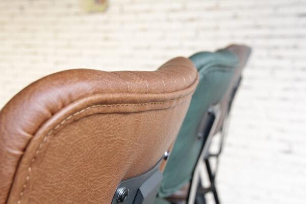 ByDezign Aviator Mid-Century Modern Tall Bar Stool - Seat Back Detailing