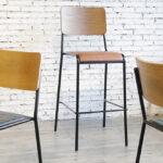 Mid-Century Modern Retro School Range – Chairs and Bar Stool