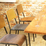 Retro School Dining Chairs – Seat Colours