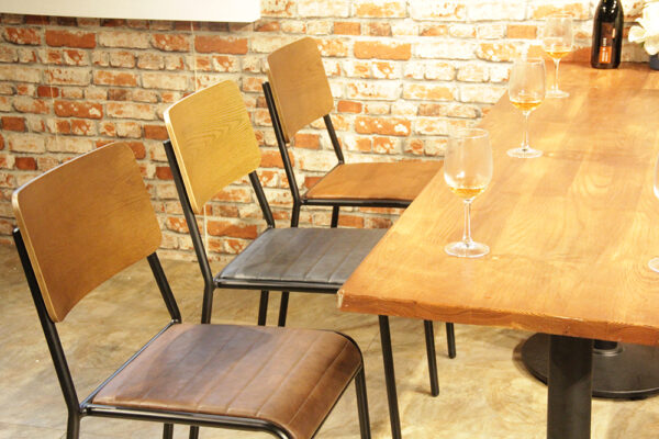 ByDezign Retro School Dining Chairs - Seat Colours
