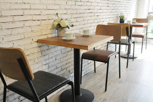 ByDezign Retro School Dining Chairs and Table