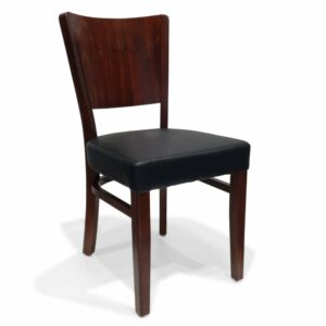 ByDezign Latte Dining Chair - Dark Walnut