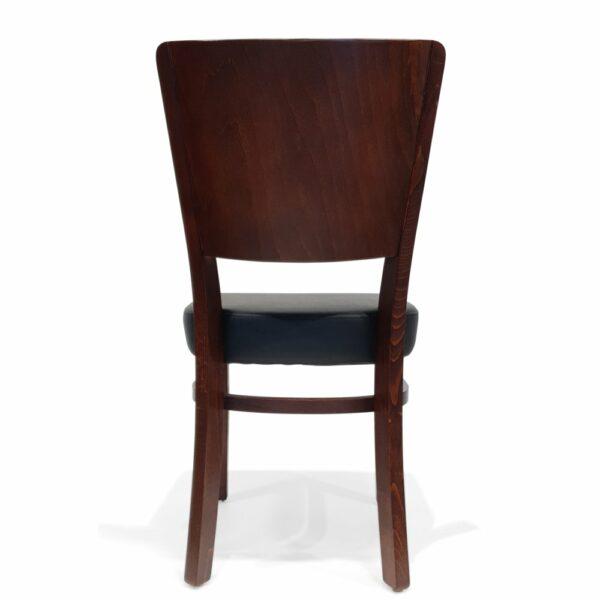 ByDezign Latte Dining Chair - Dark Walnut (Back)