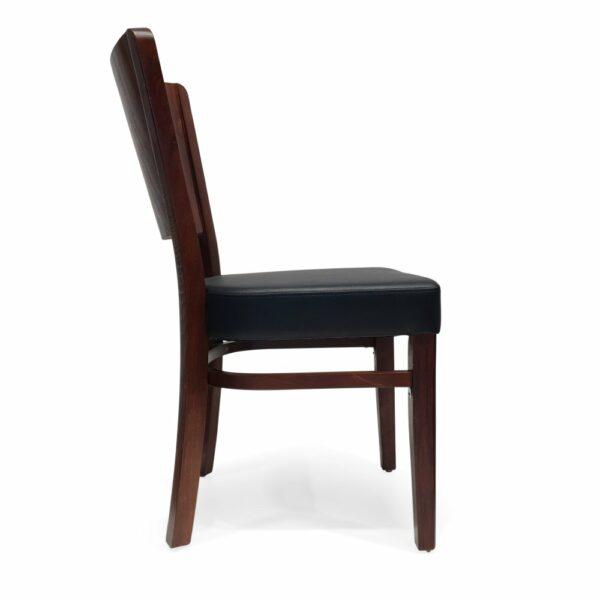 ByDezign Latte Dining Chair - Dark Walnut (Profile)