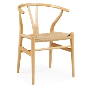 ByDezign Wishbone Chair Replica - Natural