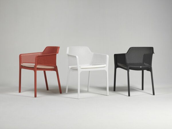NARDI Net Dining Chairs with Cushions