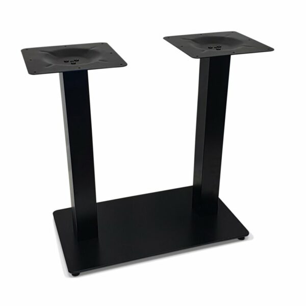 ByDezign Double Plate Table Base – Black