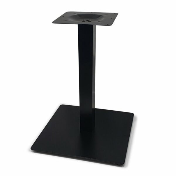 ByDezign Square Plate Table Base 550 – Black