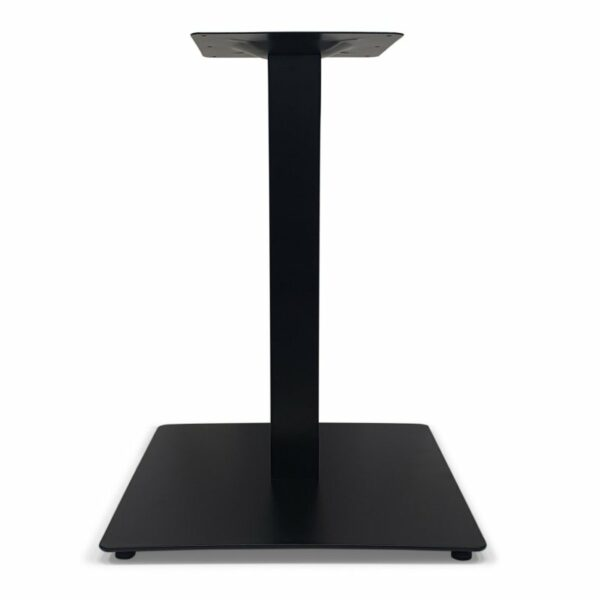 ByDezign Square Plate Table Base 550 – Black (Front)