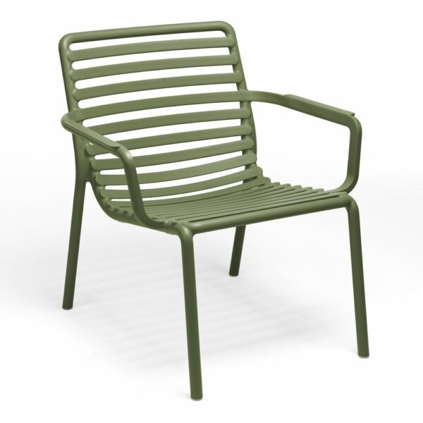 NARDI Doga Relax Lounge Chair - Olive Green