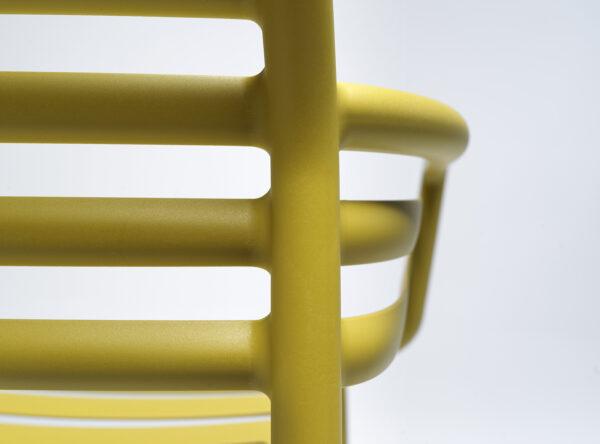NARDI Doga Armchair Details - Back & Armrest