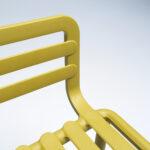 NARDI Doga Armchair Details – Seat & Armrest
