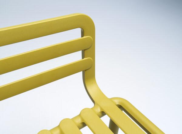 NARDI Doga Armchair Details - Seat & Armrest