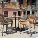 NARDI Doga Armchairs in Outdoor Cafe Setting (Venice, Italy)