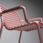 NARDI Doga Relax Lounge Chair Details – Full Chair